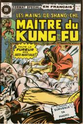 Les mains de Shang-Chi, maître du Kung-Fu (Éditions Héritage) -25- Le combat sans merci
