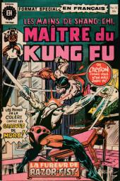 Les mains de Shang-Chi, maître du Kung-Fu (Éditions Héritage) -15- La filière du cristal