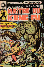 Les mains de Shang-Chi, maître du Kung-Fu (Éditions Héritage) -5- Fu-Manchu recule !