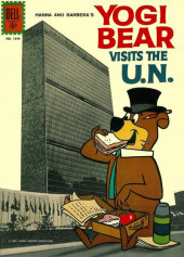 Four Color Comics (Dell - 1942) -1349- Yogi Bear Visits the U.N.
