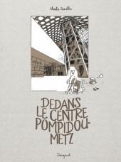 Dedans le centre Pompidou Metz