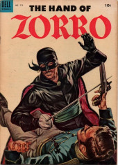 Four Color Comics (Dell - 1942) -574- The Hand of Zorro