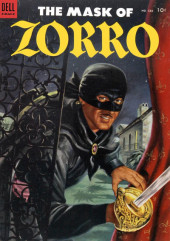 Four Color Comics (Dell - 1942) -538- The Mask of Zorro