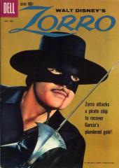 Walt Disney's Zorro (Dell - 1960)
