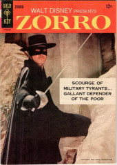 Walt Disney Presents Zorro (Gold Key - 1966) -1- (sans titre)