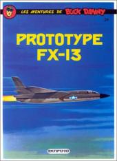 Buck Danny -24d90- Prototype fx-13