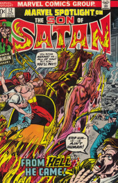 Marvel Spotlight Vol 1 (1971) -12- The son of Satan