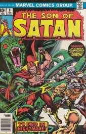 Son of Satan (The) (Marvel comics - 1975) -8- Dance with the devil, my red-eyed son