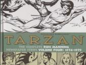 Tarzan: The Complete Russ Manning Newspaper Strips (2013) -4- Volume Four: 1974-1979