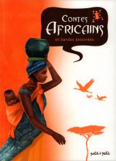 Contes du monde en bandes dessinées -b2018- Contes africains en bandes dessinées