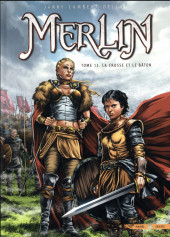 Merlin (Istin/Lambert) -13- La crosse et le bâton