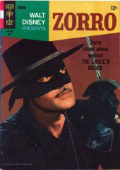 Walt Disney Presents Zorro (Gold Key - 1966) -2- The Eagle's Brood