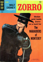 Walt Disney Presents Zorro (Gold Key - 1966) -5- The Marauders of Monterey
