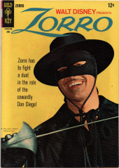 Walt Disney Presents Zorro (Gold Key - 1966) -6- (sans titre)