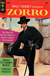 Walt Disney Presents Zorro (Gold Key - 1966) -7- (sans titre)