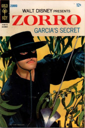 Walt Disney Presents Zorro (Gold Key - 1966) -8- Garcia's Secret