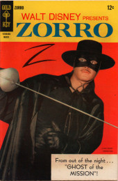 Walt Disney Presents Zorro (Gold Key - 1966) -9- Ghost of the Mission