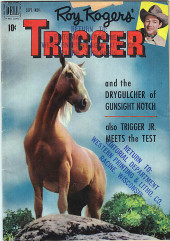 Roy Rogers' Trigger (Dell - 1951) -2- Trigger and the Drygulcher of Gunsight Notch