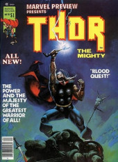 Marvel Preview (Marvel comics - 1975) -10- Thor the Mighty!