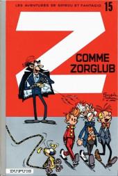 Spirou et Fantasio -15c74- Z comme zorglub
