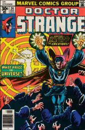 Doctor Strange (1974) -24- A change cometh