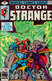 Doctor Strange (1974) -37- And fear, the final victor