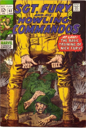 Sgt. Fury and his Howling Commandos (Marvel - 1963) -62- At last: the basic trainig of Nick Fury !