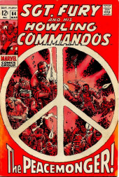 Sgt. Fury and his Howling Commandos (Marvel - 1963) -64- The Peacemonger !