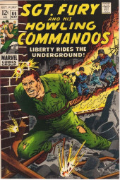 Sgt. Fury and his Howling Commandos (Marvel - 1963) -66- Liberty Rides the Underground !