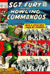 Sgt. Fury and his Howling Commandos (Marvel - 1963) -67- With A Little Help From My Friends !