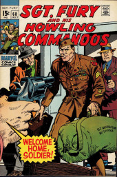 Sgt. Fury and his Howling Commandos (Marvel - 1963) -68- Welcome home, soldier !