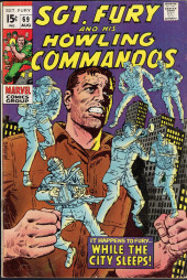 Sgt. Fury and his Howling Commandos (Marvel - 1963) -69- While the city sleeps !