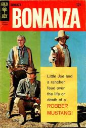 Bonanza (Gold Key - 1962) -26- Robber Mustang!