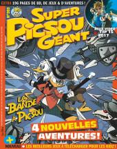 Super Picsou Géant -203- La Bande à Picsou : 4 nouvelles aventures