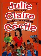 Julie, Claire, Cécile -15- Opération showbiz