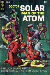Doctor Solar, Man of the Atom (1962) -21- A Million Solars Battle Microscopic Aliens from Outer Space!