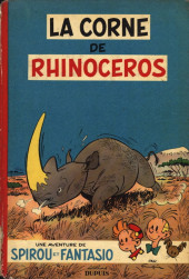 Spirou et Fantasio -6'- La corne de rhinocéros