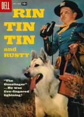 Rin Tin Tin and Rusty (Dell - 1957) -21- The Gunslinger