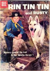 Rin Tin Tin and Rusty (Dell - 1957) -22- Apache Horses