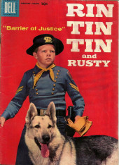 Rin Tin Tin and Rusty (Dell - 1957) -23- Barrier of Justice