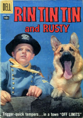 Rin Tin Tin and Rusty (Dell - 1957) -24- Off Limits