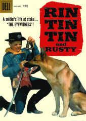 Rin Tin Tin and Rusty (Dell - 1957) -26- The Eyewitness!