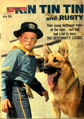 Rin Tin Tin and Rusty (Dell - 1957) -30- The Lieutenant's Lesson!