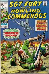 Sgt. Fury and his Howling Commandos (Marvel - 1963) -71- Burn, Bridge, Burn !