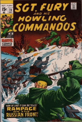 Sgt. Fury and his Howling Commandos (Marvel - 1963) -73- Rampage on the russian front !