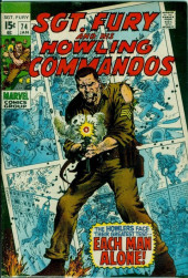 Sgt. Fury and his Howling Commandos (Marvel - 1963) -74- Each Man Alone !