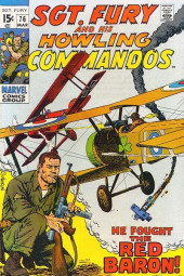 Sgt. Fury and his Howling Commandos (Marvel - 1963) -76- He Fought the Red Baron !