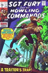 Sgt. Fury and his Howling Commandos (Marvel - 1963) -77- A traitor's trap !