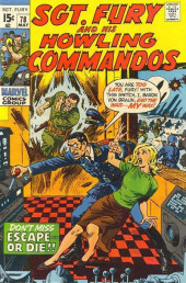 Sgt. Fury and his Howling Commandos (Marvel - 1963) -78- Don't miss Escape... Or die !!