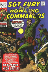 Sgt. Fury and his Howling Commandos (Marvel - 1963) -79- Death In the High Castle !